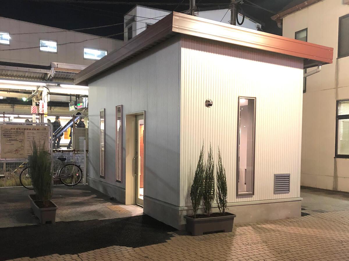 屋外ユニットハウス施工事例