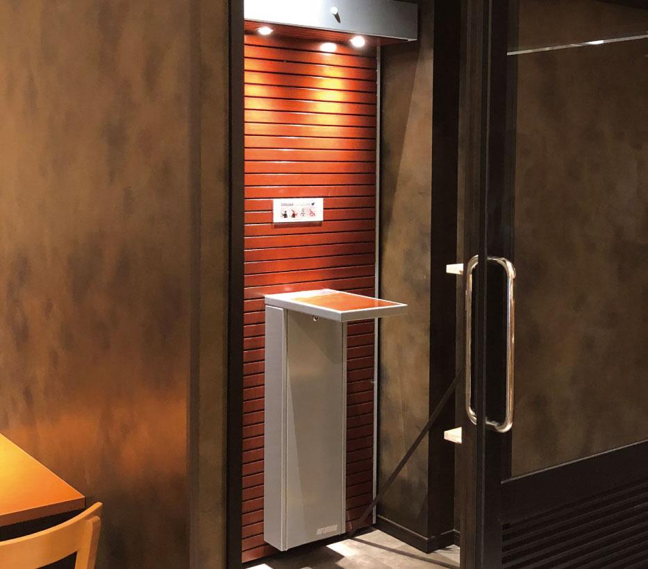 屋内喫煙スペース施工イメージ